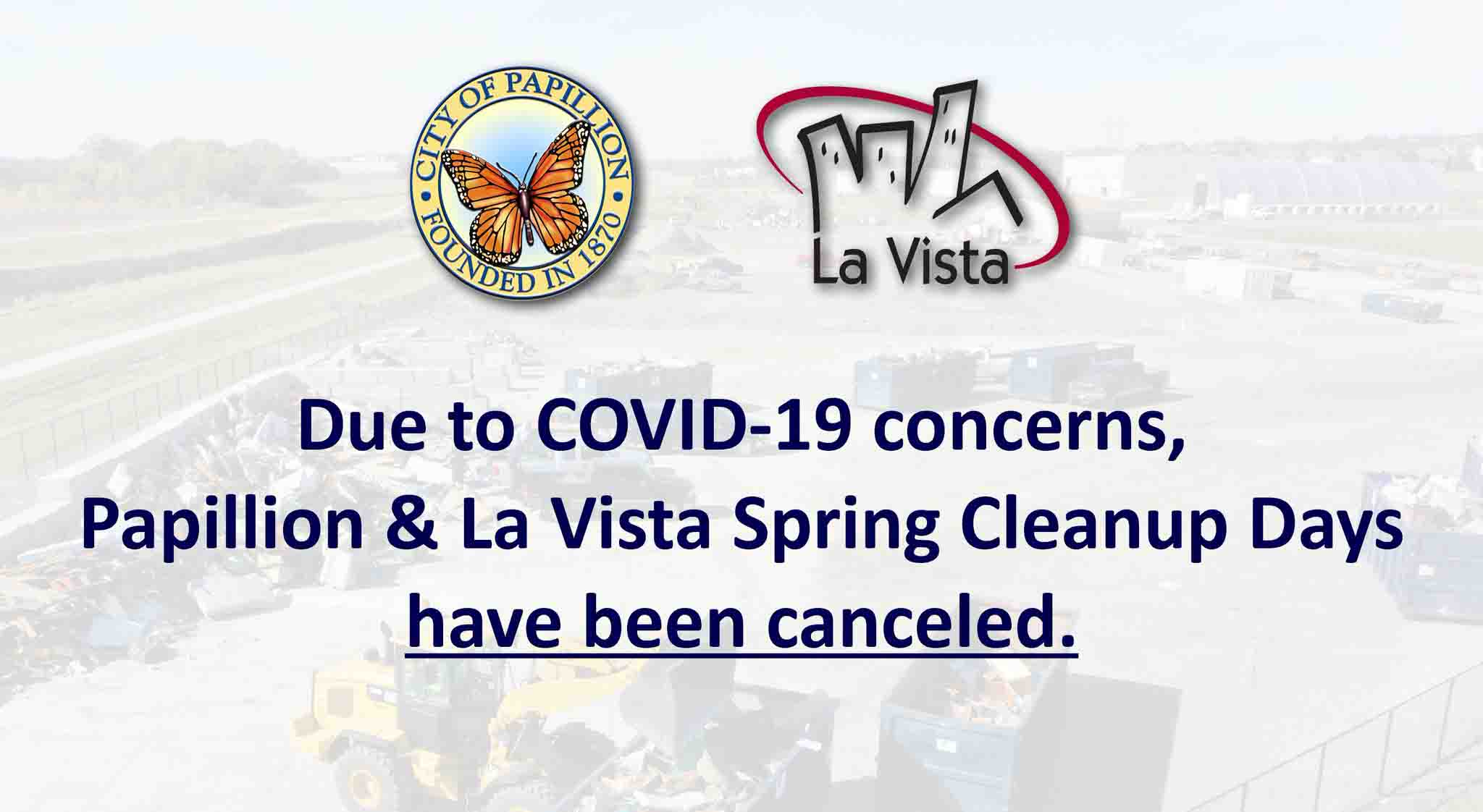 Clean up days cancellation