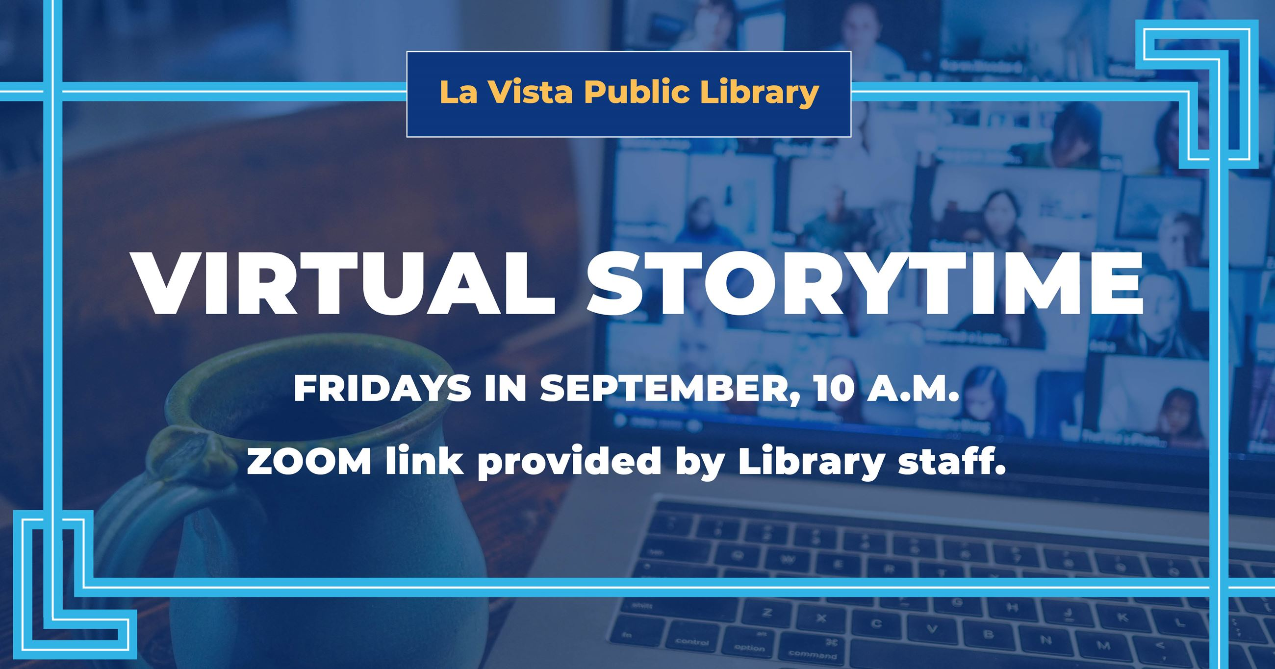 FACEBOOK Friday Virtual Storytime