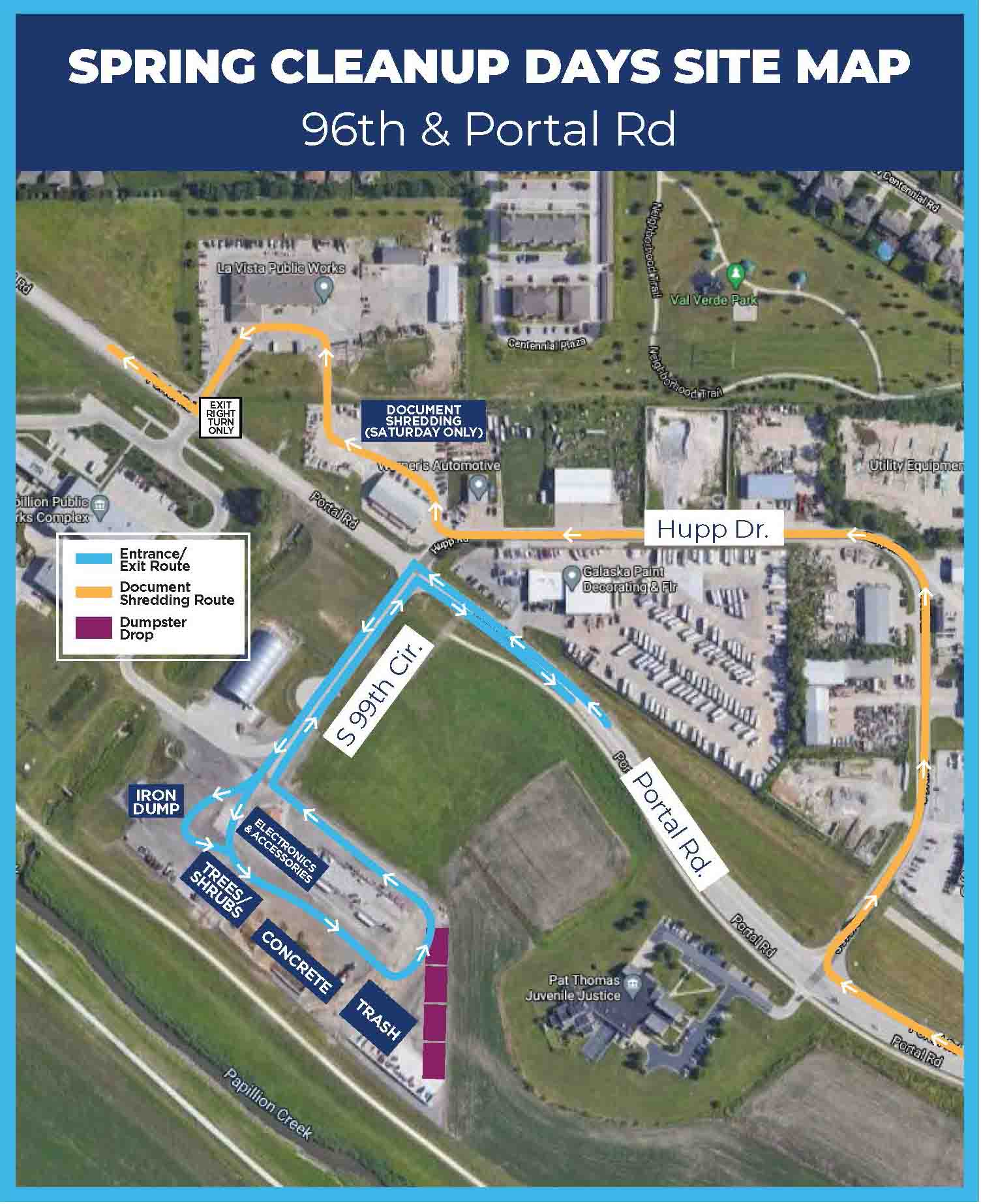 CROPPED Spring Cleanup Days Map